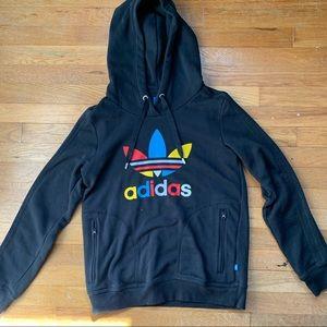 Adidas Hoodie multicolor logo